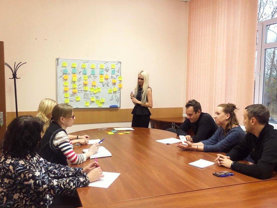 """Тренинг для резидентов и сотрудников по теме """"Сервис-дизайн"""" и «Customer Journey Map"""""""