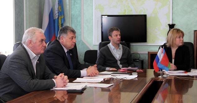 В Пскове состоялась видеоконференция с Витебском и Астраханью по развитию малого бизнеса