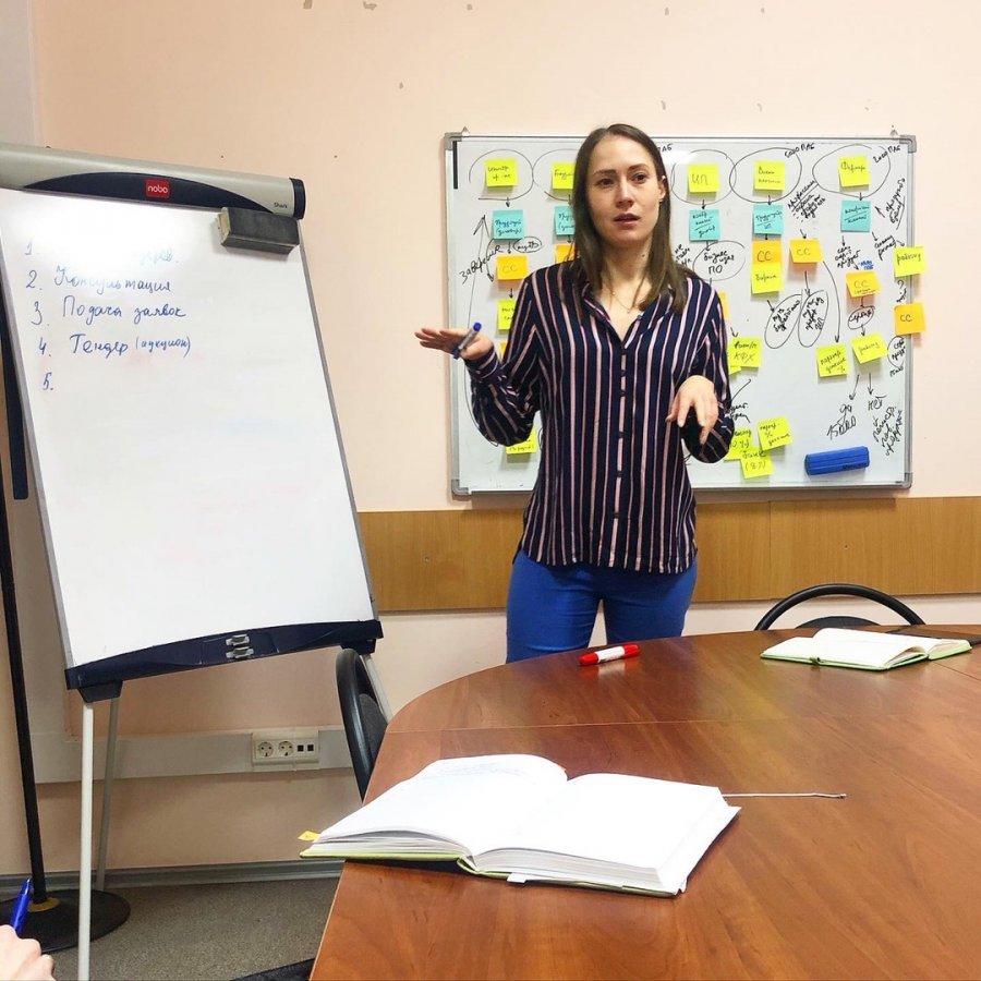 Обучающий семинар для молодых специалистов по тендерам